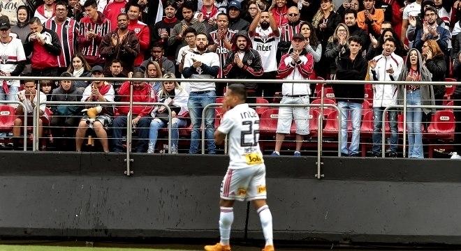 Bruno Peres fez o gol da vitória do São Paulo sobre o Ceará