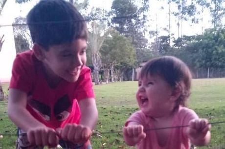 Bruno Peruka se orgulha da amizade entre os filhos