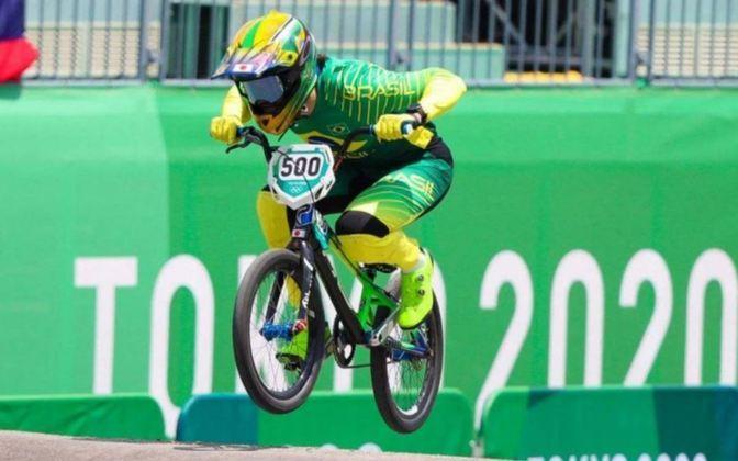 Bruno Rezende avançou no ciclismo BMX olímpico, sendo a primeira vez que o carioca chegou a uma semifinal em Jogos Olímpicos.