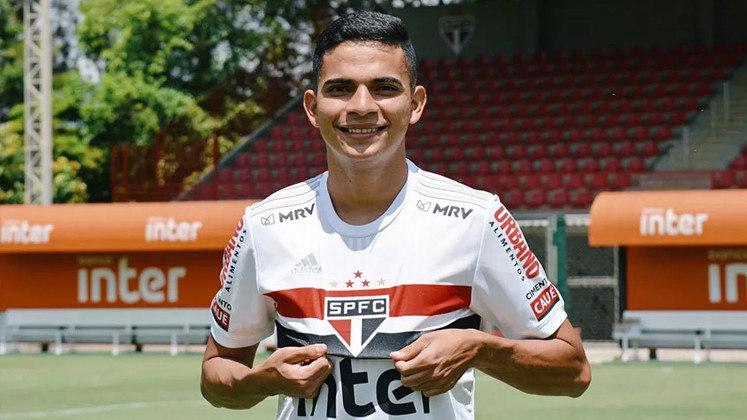 Bruno Rodrigues - contratado nesse ano, o atacante de 24 anos tem vínculo com o São Paulo até dezembro desse ano.