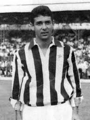 Bruno Siciliano - atacante - 1961/1963 - 29 jogos e 7 gols - Clubes no Brasil: Botafogo