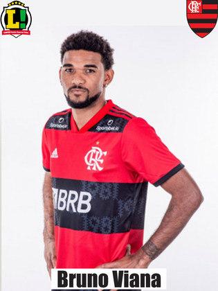 Bruno Viana: 6,5 – Mais uma boa partida do reforço Rubro-Negro para a temporada. Seguro na defesa, ele mostrou boa visão de jogo ao contribuir com bons lançamentos para o campo de ataque.