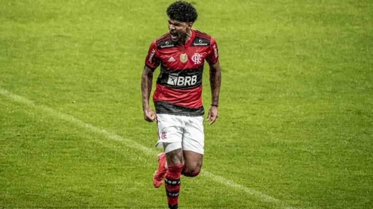 Bruno Viana: emprestado pelo Braga ao Flamengo, o zagueiro não conseguiu se firmar na equipe e sofre críticas por parte da torcida flamenguista.