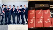 Integrantes do BTS recebem passaportes diplomáticos