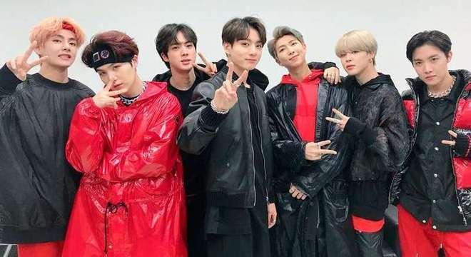 A banda BTS faz boa ação para os fãs em quarentena