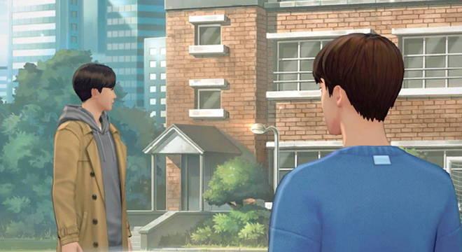 Jogo permite que usuário interaja e escolha diálogos entre os personagens