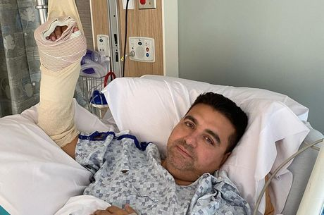 Buddy Valastro sofreu o acidente jogando boliche