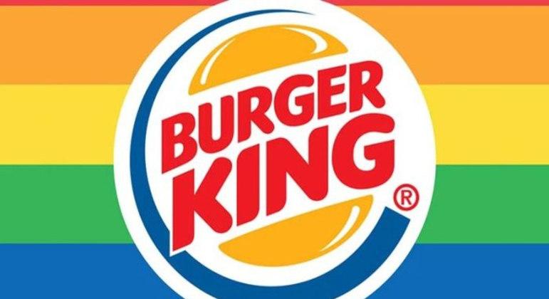 Rede de fast-food mudou logomarca em campanha LGBT