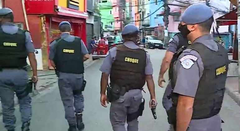 Policiamento é reforçado em 4º dia de buscas por soldado desaparecido em Heliópolis