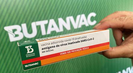 SP anunciou a ButanVac como a 1ª vacina contra a covid-19 produzida integralmente no Brasil