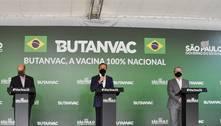 SP projeta fabricar 40 milhões de doses e aplicar ButanVac em julho