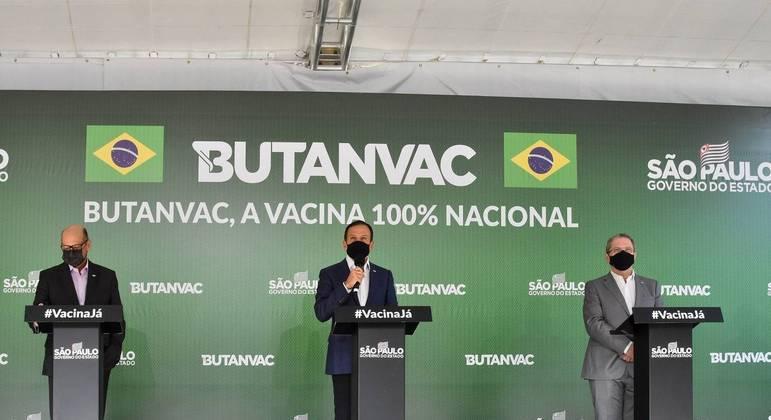 Imunizante desenvolvido pelo Butantan usará mesma tecnologia que a vacina da gripe