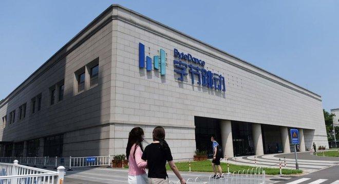 A sede da ByteDance fica em Pequim