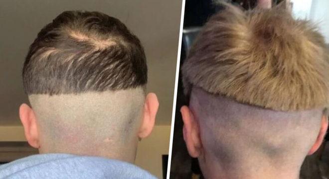 O que pode dar errado ao cortar o cabelo em casa, não é mesmo?