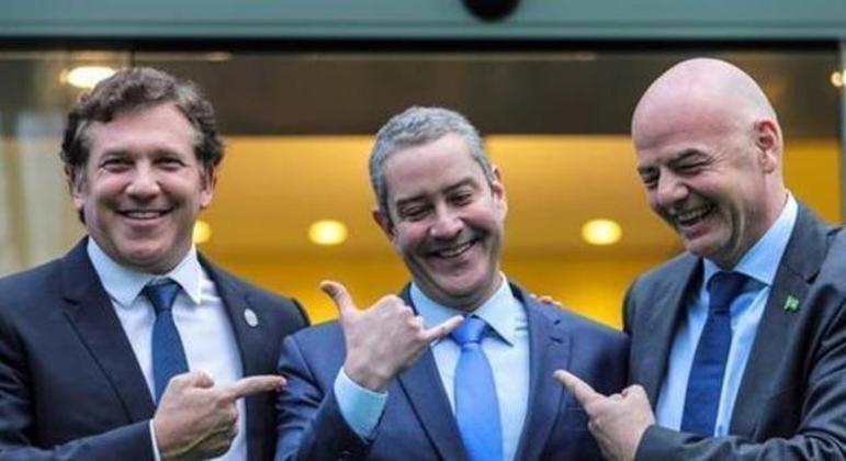 No dia da denúncia de assédio, Caboclo comprou jato particular para a CBF. R$ 70 milhões
