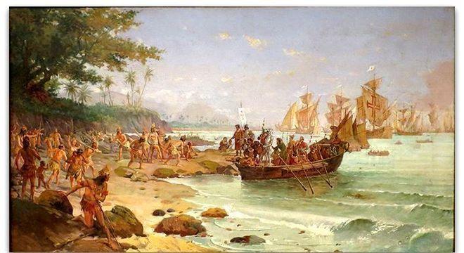 A chegada ao Brasil, segundo Oscar Pereira da Silva