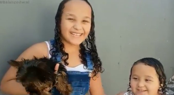 O cachorrinho Nicky foi encontrado e voltou para sua família
