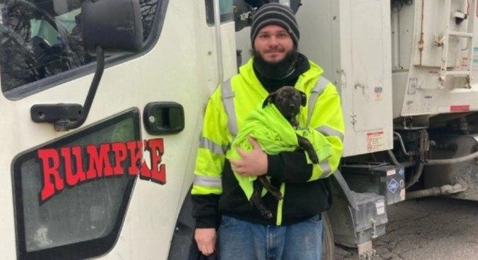 Cão foi adotado pelo motorista