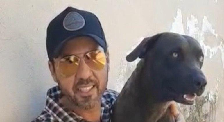 Cão passa bem após resgate