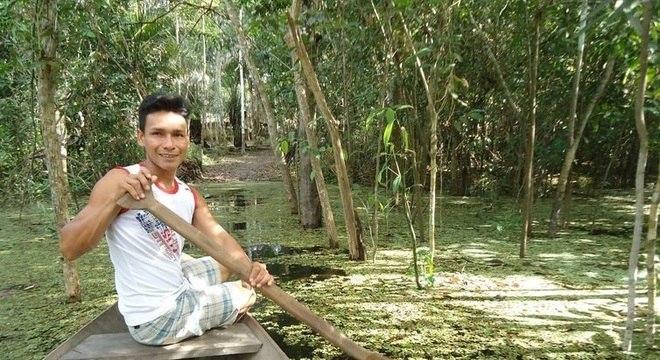 Cacique Francisco Uruma divulga os saberes dos mais velhos