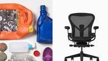 Empresa usa plástico tirado do mar para produzir cadeiras de escritório