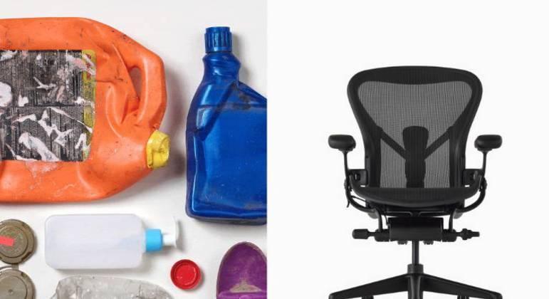 Herman Miller anuncia que irá incorporar plástico marinho na produção de sua linha de cadeiras para escritório