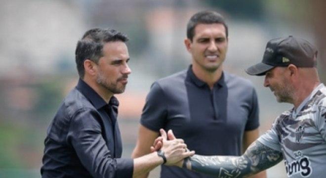 Caetano promete parceria com Sampaoli e disse que ele e Coudet, com quem trabalhou no Internacional, são muitos parecidos