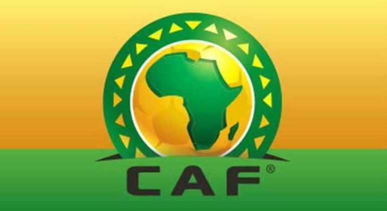 O logotipo da Confederação Africana
