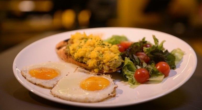 Café da manhã com ovo, do Eggy