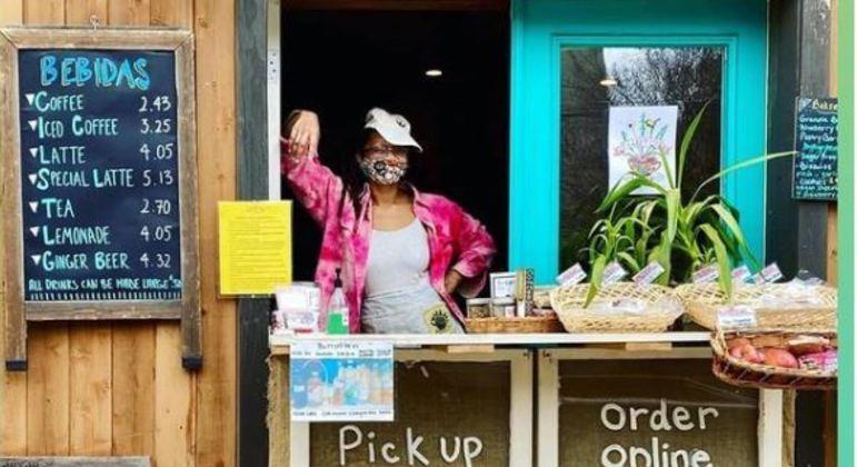 Café conseguiu se manter aberto graças a ajuda da comunidade