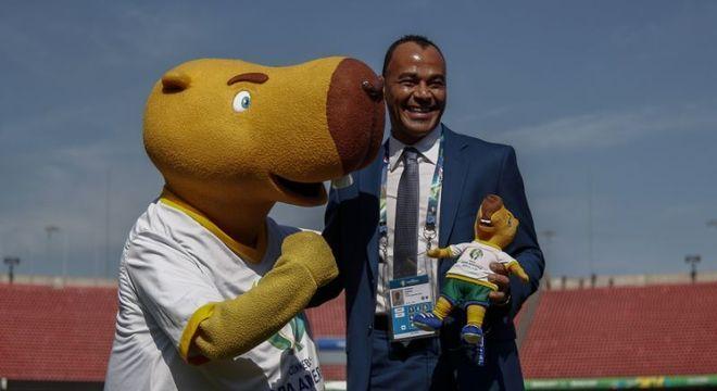 Cafu: na Copa América, já como embaixador da Copa do Mundo no Qatar