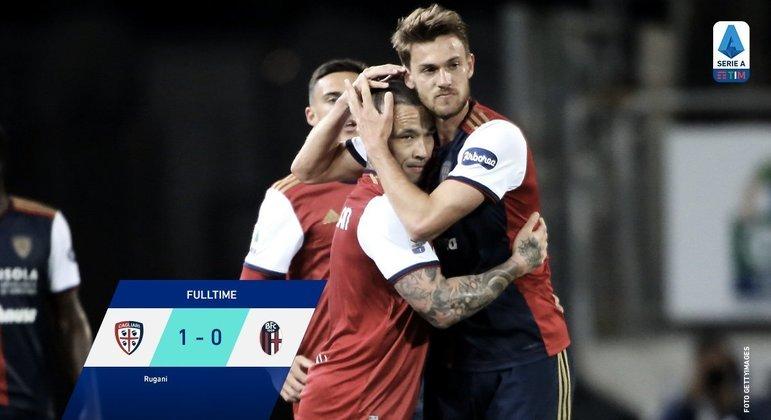 Cagliari 1 X 0 Bologna, os sardos ao menos fora da zona de rebaixamento