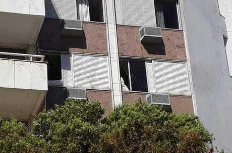 Menino caiu do 4º andar do prédio