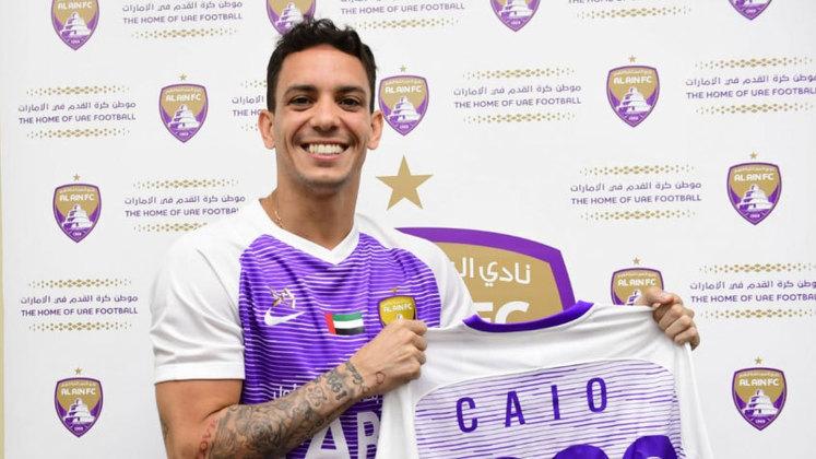 Caio (Botafogo) - Apontado como talismã de Joel Santana no Botafogo, Caio não foi bem no futebol brasileiro e hoje defende o Al Ain, dos Emirados Árabes.