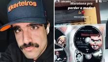 Caio Castro maratona 'Chucky' para perder medo do 'boneco assassino'