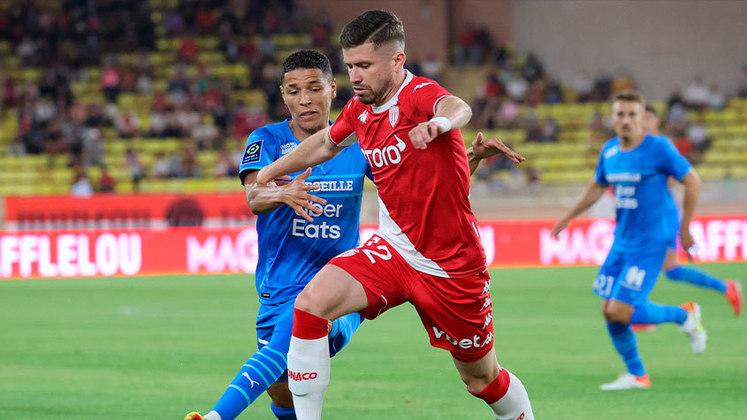 Caio Henrique: o lateral deixou a desejar na derrota do Monaco para o Olympique de Marseille.