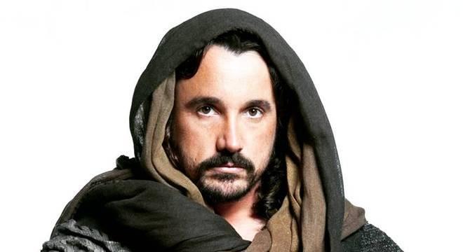 Caio Junqueira fez sucesso na novela Milagres de Jesus (Record TV)
