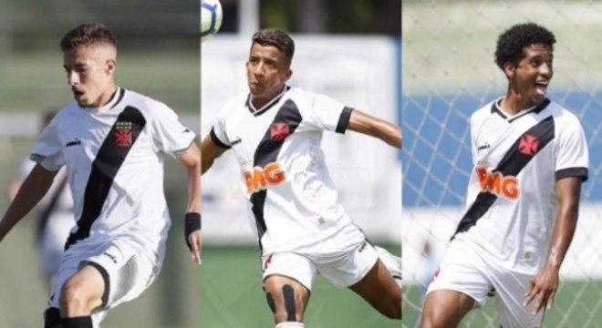 Caio Lopes, Vinicius e Miranda