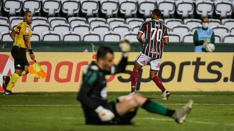 Caio Paulista - 22 anos - Fluminense - Atacante - Contrato até: 28/02/2021 - O jogador pertence ao Tombense e o Fluminense não deve estender o empréstimo.