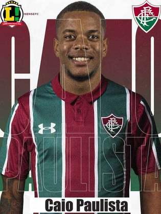 Caio Paulista - 7,0 - Que estrela do atacante! Começou no banco, entrou aos 2 minutos e não decepcionou. Marcou um belo gol - o primeiro com a camisa do Fluminense - para abrir o placar. Também foi bastante ativo na recomposição defensiva pelo lado direito.