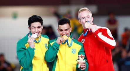Caio Souza é considerado o ginasta mais completo do Brasil