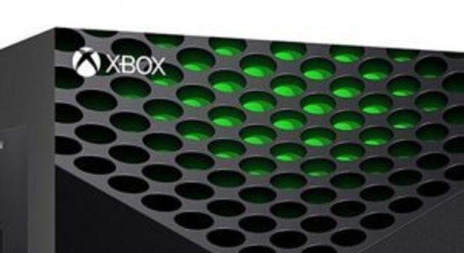 Caixa do Xbox Series X aparece em loja online