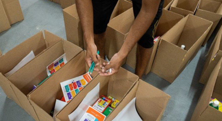 ONG está auxilindo famílias no Acre com alimentos e itens para apoio psicopedagógico