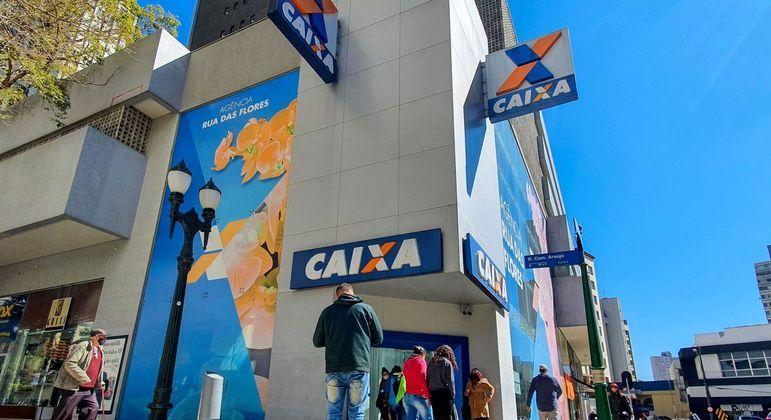 Agência da Caixa Econômica Federal, que terá crédito especial caso PL enviado por Bolsonaro ao Congresso seja aprovado