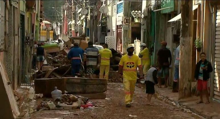 Prefeitura de Cajamar, na Grande SP, diz que tem 240 imóveis prejudicados por enxurrada