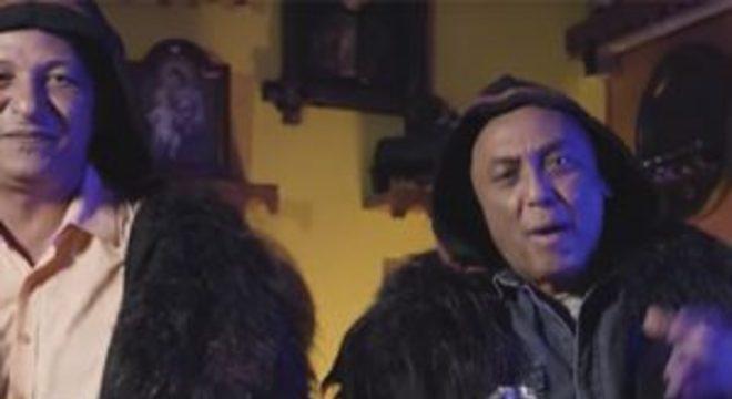 Caju e Castanha fazem batalha de repente para promover Assassin's Creed Valhalla