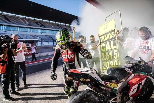 Cal Crutchlow deu adeus à MotoGP