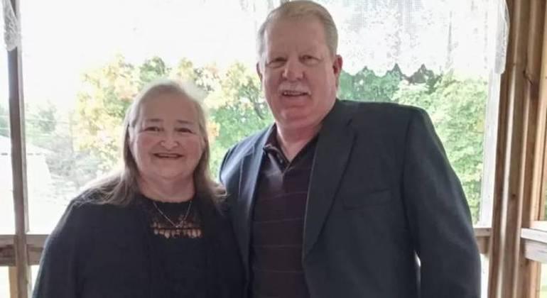 Cal e Linda Dunham eram muito unidos e faziam tudo juntos