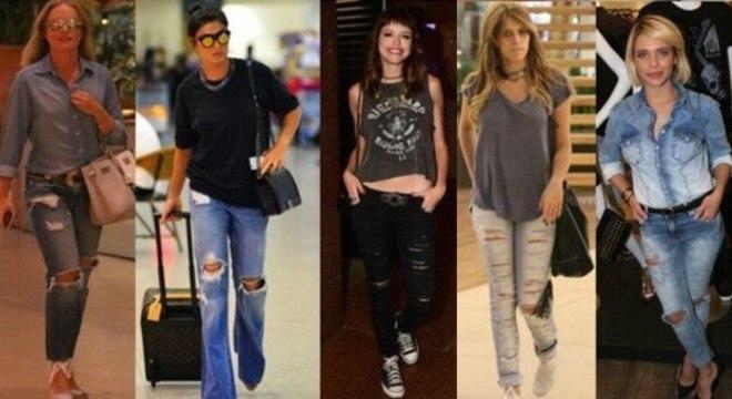 A tendência que está de volta, já é a preferida entre as  celebridades.