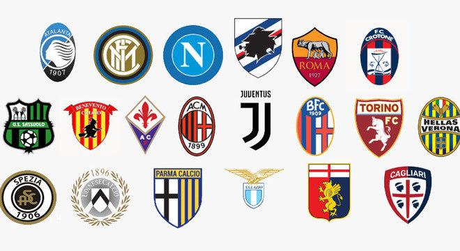 Os 20 clubes da temporada 2020/2021 no Futebol da Velha Bota
